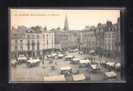 (23/01/21) 44-CPA NANTES - PLACE DE BRETAGNE - LE MARCHE - Nantes
