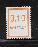 FRANCE  ( FFIC - 61 )  1978  N° YVERT ET TELLIER  N° F221   N** - Ficticios