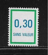 FRANCE  ( FFIC - 63 )  1978  N° YVERT ET TELLIER  N° F224   N** - Ficticios