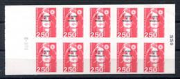RC 19885 ST PIERRE ET MIQUELON COTE 15€ N° C557 CARNET BRIAT RGR-2 A GAUCHE NEUF ** MNH TB - Carnets