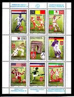 Soccer World Cup 1998 - SERBIJA - 4 Sheets MNH** - 1998 – Frankrijk