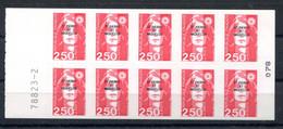 RC 19886 ST PIERRE ET MIQUELON COTE 15€ N° C557 CARNET BRIAT N° A GAUCHE NEUF ** MNH TB - Carnets