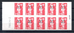 RC 19887 ST PIERRE ET MIQUELON COTE 15€ N° C557 CARNET BRIAT N° A GAUCHE NEUF ** MNH TB - Carnets