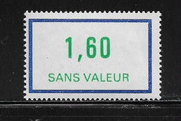 FRANCE  ( FFIC - 69 )  1981  N° YVERT ET TELLIER  N° F228   N** - Ficticios