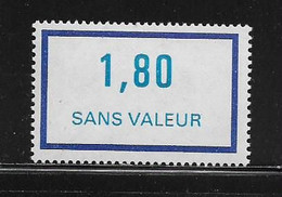 FRANCE  ( FFIC - 72 )  1981  N° YVERT ET TELLIER  N° F229   N** - Ficticios