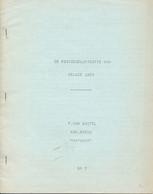 De Postzegel Uitgifte Van België 1865 – F. Van Gestel – 9 Blz A5 - Philatelie Und Postgeschichte