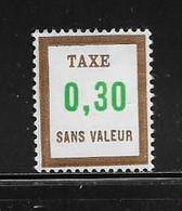 FRANCE  ( FFIC - 79 )  1972  N° YVERT ET TELLIER  TAXE  N° TF26   N** - Ficticios