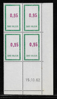 FRANCE  ( FFIC - 85 )  1961  N° YVERT ET TELLIER  FICTIF  N° F157   N** - Autres