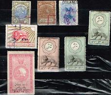 Lot Anciens Fiscaux Old Revenues - Iran