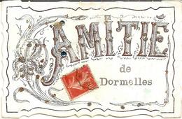 6J1  ---  77  Amitiés De DORMELLES - Altri Comuni