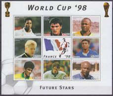 1997Ghana2586-2593KL1998 FIFA World Cup In France7,00 € - 1998 – Frankrijk