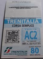 Biglietto Corsa Semplice Trenitalia - Tariffa Regionale Campania - Europa