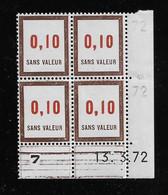 FRANCE  ( FFIC - 95 )  1972  N° YVERT ET TELLIER  FICTIF  N° F192   N** - Autres