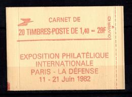 France Carnet 2102 C8 Sabine De Gandon Fermé - Definitives