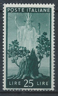 Italie YT 500 Neuf Sans Charnière - XX - MNH - 1946-60: Nieuw/plakker