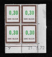 FRANCE  ( FFIC - 99 )  1972  N° YVERT ET TELLIER  FICTIF  N° F194   N** - Autres