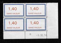 FRANCE  ( FFIC - 100 )  1976  N° YVERT ET TELLIER  FICTIF  N° F206   N** - Autres