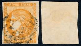 1870 France Yv# 48  (o) Oblitere TB Beau. Ceres (Bourdeaux) 40c. (Yvert&Tellier) - 1870 Bordeaux Printing