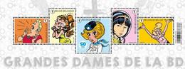 2021 Belgium Strip BD Comic Cartoon MNH Castafiore Tintin Robbedoes Natasha Yoko Tsuno Sidonie Strook FR Femmes Dames - Cómics
