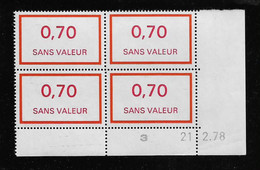 FRANCE  ( FFIC - 104 )  1976  N° YVERT ET TELLIER  FICTIF  N° F211   N** - Autres