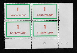 FRANCE  ( FFIC - 108 )  1976  N° YVERT ET TELLIER  FICTIF  N° F212   N** - Autres