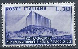 Italie YT 594 Neuf Sans Charnière - XX - MNH - 1946-60: Nieuw/plakker