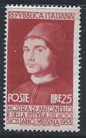 Italie YT 644 Neuf Sans Charnière - XX - MNH - 1946-60: Nieuw/plakker