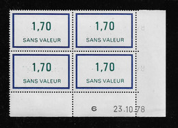 FRANCE  ( FFIC - 110 )  1976  N° YVERT ET TELLIER  FICTIF  N° F214   N** - Autres