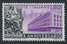 Italie YT 699 Neuf Sans Charnière - XX - MNH - 1946-60: Nieuw/plakker