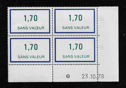 FRANCE  ( FFIC - 111 )  1976  N° YVERT ET TELLIER  FICTIF  N° F214   N** - Autres