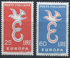 Italie YT 765-766 Neuf Sans Charnière - XX - MNH Europa 1958 - 1946-60: Nieuw/plakker