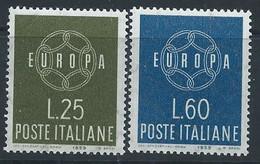 Italie YT 804-805 Neuf Sans Charnière - XX - MNH Europa 1959 - 1946-60: Nieuw/plakker