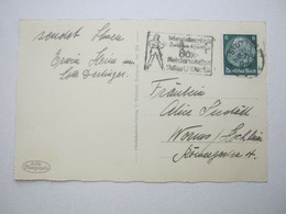 1934 , STUTTGART - Boxen, Werbestempel Auf Karte - Covers & Documents