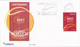 2008 Spain  Sg 4388 Royal Federación Española De Tennis Sport FDC Nice  (Stanley Gibbons) - FDC