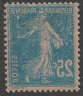 "2 Timbres Semeuse N°140 Variété ""recto-verso"", Un Neuf, Un Oblitéré - Curiosities: 1900-20 Used"