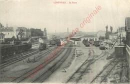 54.  LUNEVILLE .  La Gare . - Luneville