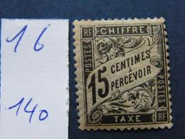 Tax No 16 Neuf * - 1960-.... Nuovi