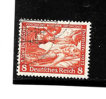 III-Mi.Nr.503 A / Wagner 8 Pfg- O - Usati
