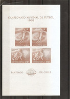 Coupe Du Monde Au Chili -1962 ( 607 Et 608 Du Chili En BF XXX -MNH) - 1962 – Chili
