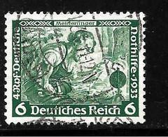 III-Mi.Nr.502 A / Wagner 6  Pfg.  O - Used Stamps