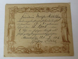 """""""Einladung Zur Taufe""""  1896 ♥  - Cumpleaños"""