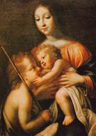 Toulouse Musée Des Augustins La Vierge Jésus Et Saint Jean Baptiste Par Guy François (carte Vierge) - Paintings