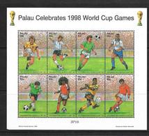 PALAU 1998 FOOTBALL  YVERT N°1159/62 NEUF MNH** - 1998 – Frankrijk
