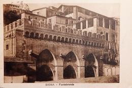 Cartolina - Siena - Fontebranda - 1927 - Siena