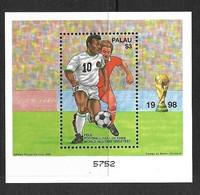 PALAU 1998 FOOTBALL  YVERT N°B61 NEUF MNH** - 1998 – Frankrijk