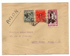 Maroc Espagnol -1950--Lettre De TANGER Pour St DENIS (France)...tp....cachets.........à Saisir - Spanish Morocco
