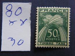 Tax N 80 Neuf  ** - 1960-.... Nuevos