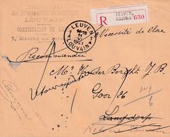 Chambre Du Tribunal Des Dommages De Guerre Leuven Langdorp 1921 - War 1914-18
