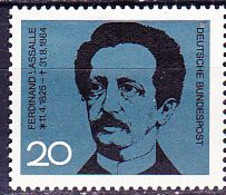 BRD FGR RFA - 100. Todestag Von Ferdinand Lassalle (MiNr: 443) 1964 - Postfrisch MNH - Nuovi
