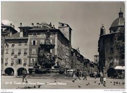 TRENTO:  PIAZZA  DUOMO  -  FONTANA  NETTUNO  -  FOTO  -  FG - Trento